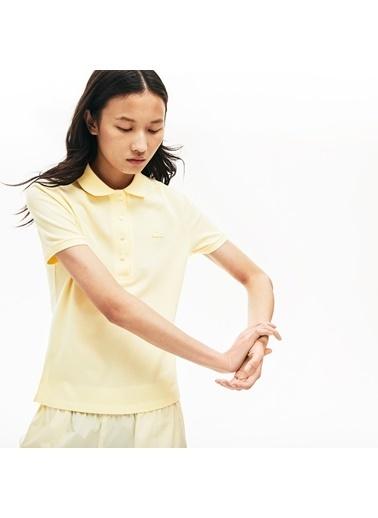 Lacoste Kadın  Tişört PF5462.YZJ Sarı